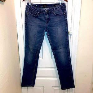 Express Women's Dark Wash Skinny Jeans Sz 10